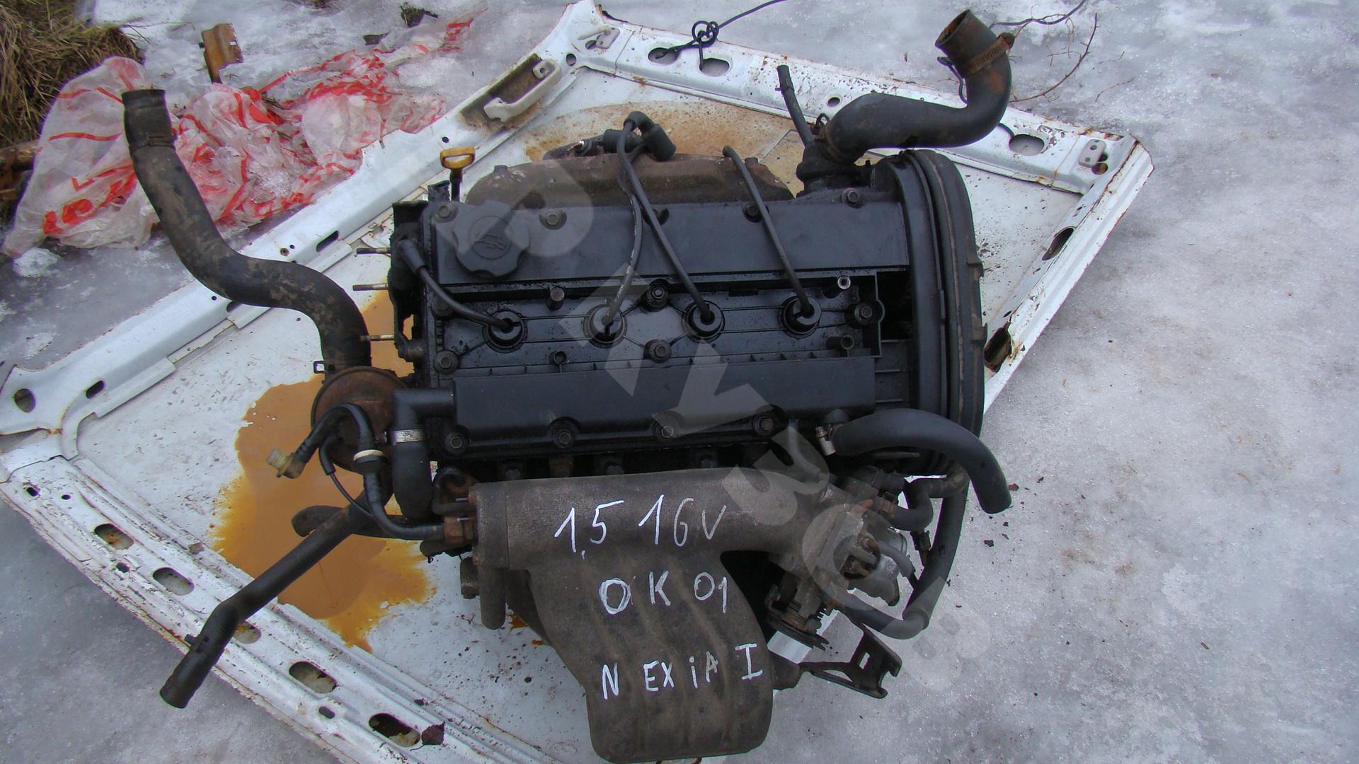 Ремонт двигателя дэу нубира своими руками